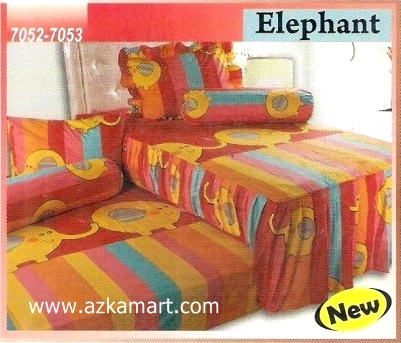 Sprei Sorong 2 in 1 My Love Duo Elephant