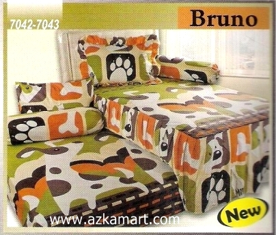 Sprei Sorong 2 in 1 My Love Duo Bruno