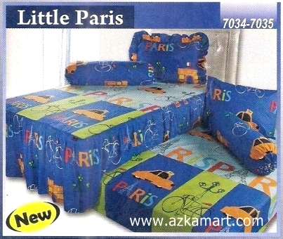 Sprei Sorong 2 in 1 My Love Duo Little Paris