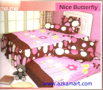 Sprei Sorong 2 in 1 My Love Duo Nice Butterfly