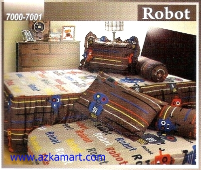 Sprei Sorong 2 in 1 My Love Duo Robot
