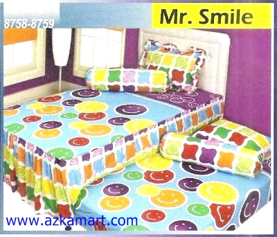 Sprei Sorong 2 in 1 My Love Duo Mr Smile