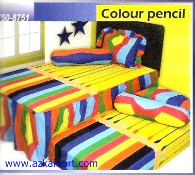 Sprei Sorong 2 in 1 My Love Duo Color Pencil