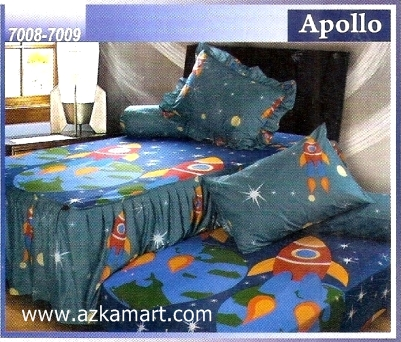Sprei Sorong 2 in 1 My Love Duo Apollo