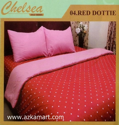 Sprei Chelsea Red Dottie