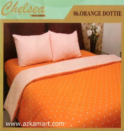 Sprei Chelsea Orange Dottie