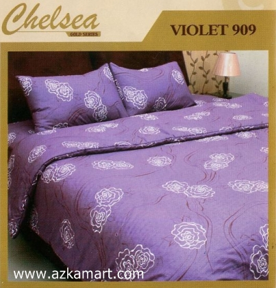 Sprei Bed Cover Chelsea Violet