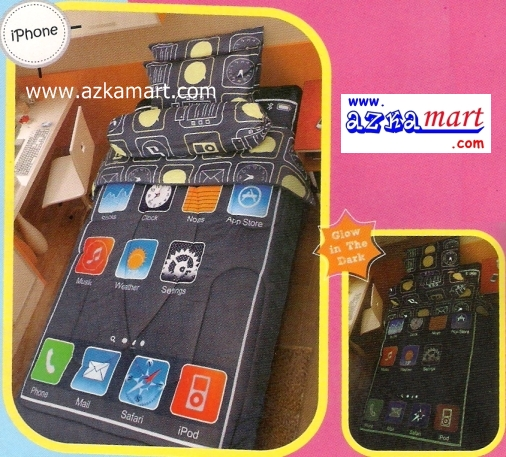 Kintakun Glow in the dark iPhone