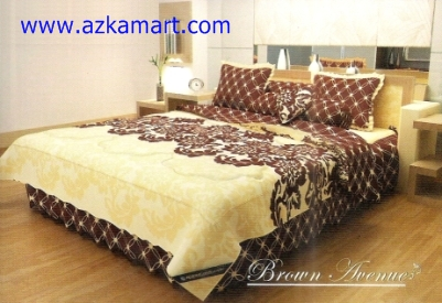 bed cover kintakun Brown Avenue