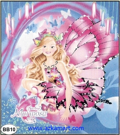 Selimut New Seasons Barbie Mariposa