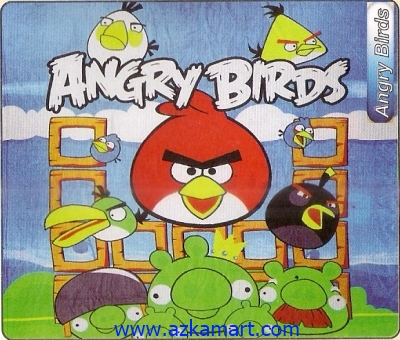 selimut panel Internal Angry Birds
