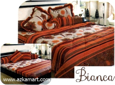 jual grosir sprei bed cover My Love Bianca