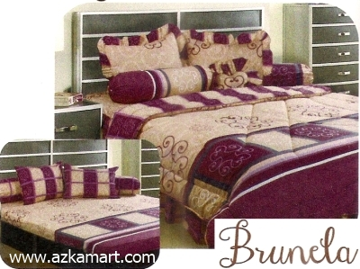 jual grosir sprei bed cover My Love Brunela