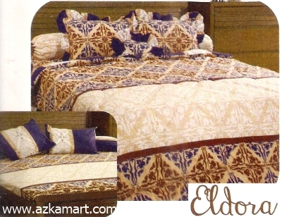 jual grosir sprei bed cover My Love Eldora