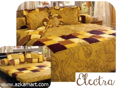 jual grosir sprei bed cover My Love Electra