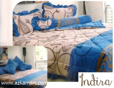 jual grosir sprei bed cover My Love Indira
