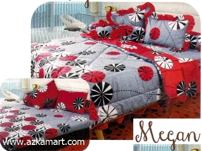jual grosir sprei bed cover My Love Megan