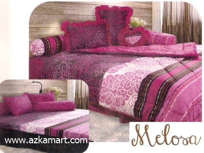 jual grosir sprei bed cover My Love Melosa