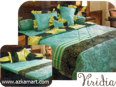 jual grosir sprei bed cover My Love Viridia