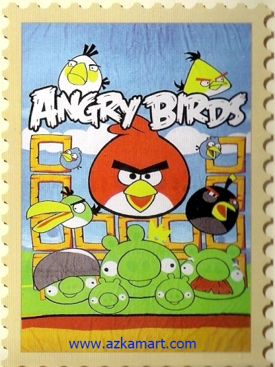 grosir murah Selimut Internal Angrybirds