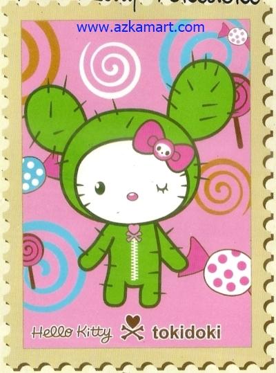 jual grosir murah toko Selimut Internal Hello Kitty Tokidoki