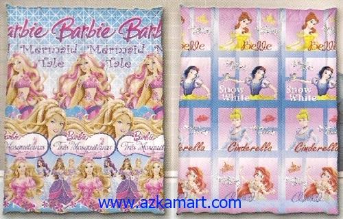 jual grosir murah Selimut Ananda A Barbie - Cinderella