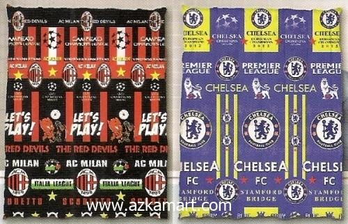 jual grosir murah Selimut Ananda D Milan - Chelsea