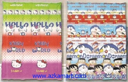 jual grosir murah Selimut Ananda E Hello Kitty - Doraemon