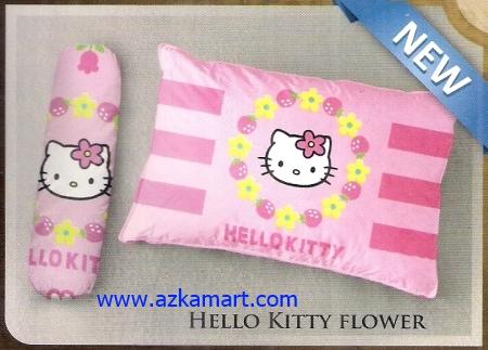 Bantal selimut murah Balmut Ilona Hello Kitty Flower