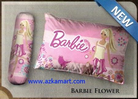 Bantal selimut murah Balmut Ilona Barbie Flower