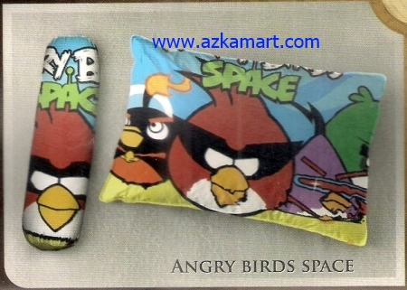 jual bantal selimut  Balmut Ilona Angry Birds Space