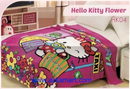 34 Selimut Blossom HK04 Hello Kitty Flower