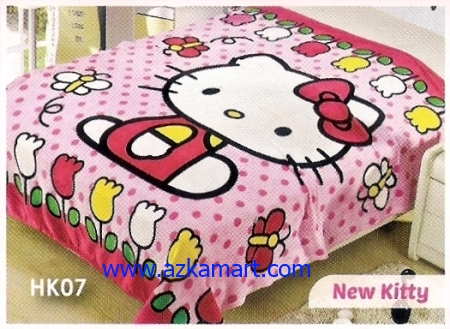 37 Selimut Blossom HK07 New Kitty