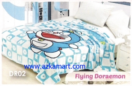 48  Selimut Blossom DR02 Flying Doraemon