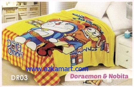 49  Selimut Blossom DR03 Doraemon n Nobita
