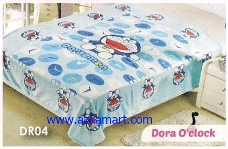 50  Selimut Blossom DR04 Dora oClock