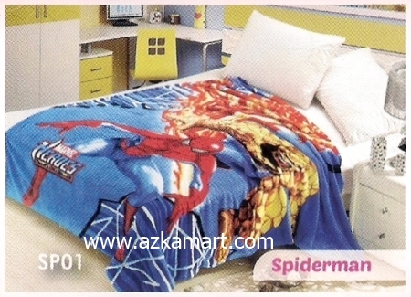jual Selimut Blossom SP01 Spiderman