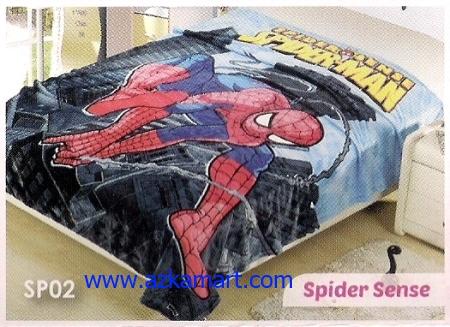 jual Selimut Blossom SP02 Spider Sense