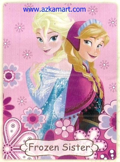 02 Selimut Rosanna Frozen Sister