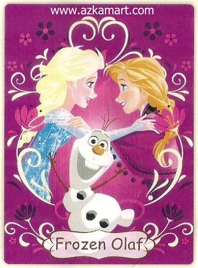 03 Selimut Rosanna Frozen Olaf