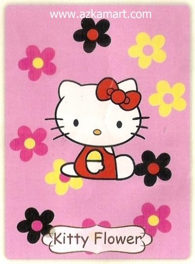 06 Selimut Rosanna Kitty Flower