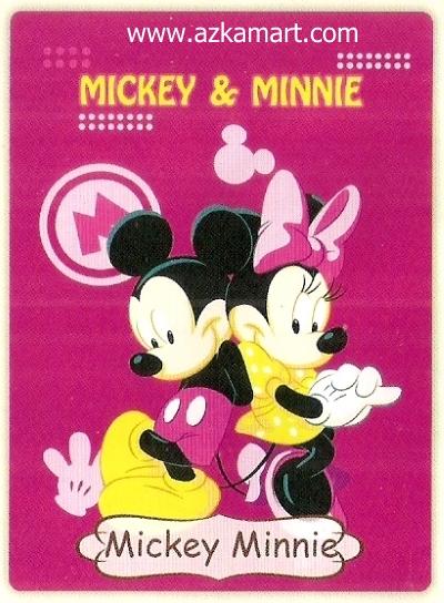 07 Selimut Rosanna Mickey Minnie
