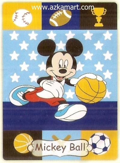 08 Selimut Rosanna Mickey Ball