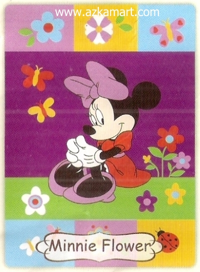 09 Selimut Rosanna Minnie Flower