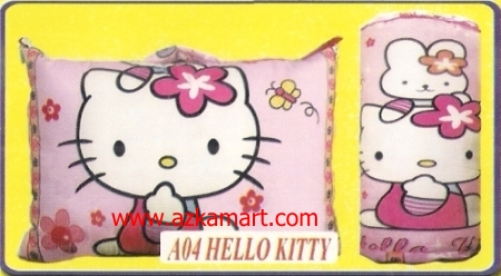 jual bantal selimut Balmut Chelsea A04 Hello Kitty