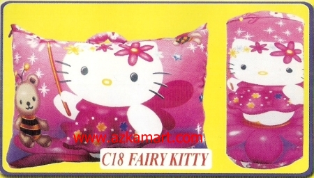jual bantal selimut Balmut Chelsea C18 Fairy Kitty