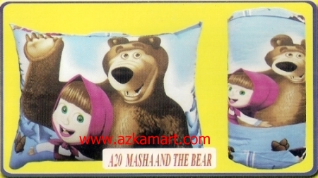jual bantal selimut Balmut Chelsea A20 Masha and The Bear