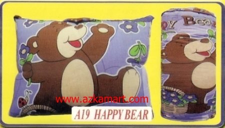 jual bantal selimut Balmut Chelsea A19 Happy Bear