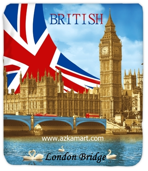 jual grosir online Selimut Kendra London Bridge