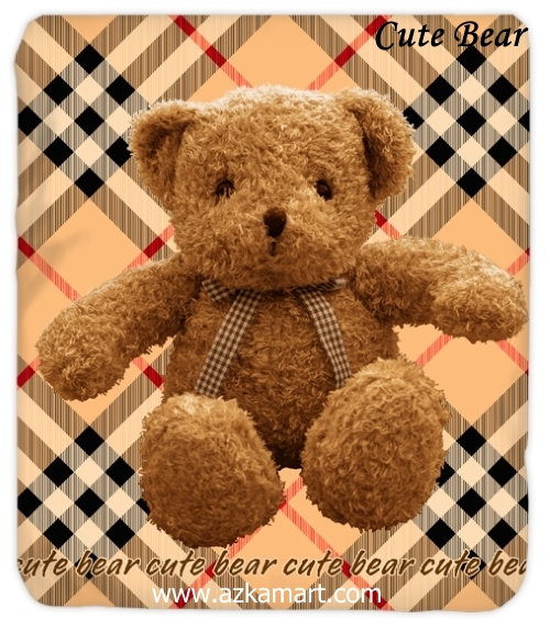 jual grosir online Selimut Kendra Cute-Bear